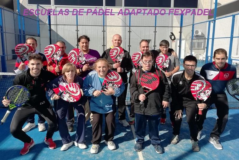 Inicio de las Escuelas de Pádel Adaptado 2019/2020