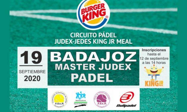 MÁSTER JUDEX PÁDEL KING JR MEAL 2020