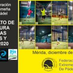CLAUSURADO EL CAMPEONATO DE EXTREMADURA POR PAREJAS DE VETERANOS Y MENORES 2020