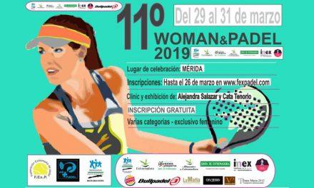 11ª EDICIÓN WOMAN&PÁDEL 2019