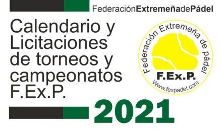 BASES DE LICITACIÓN Y CALENDARIO TENTATIVO 2021