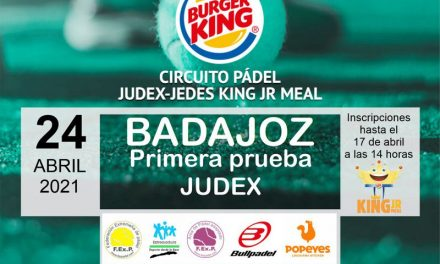 1ª PRUEBA CIRCUITO KING JR. MEAL JUDEX EN BADAJOZ 2021