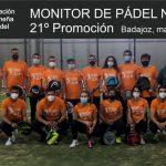 21º PROMOCIÓN DE MONITORES DE PADEL NIVEL 1 FEXPADEL 2021