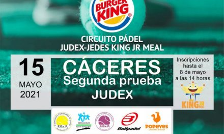 2ª PRUEBA CIRCUITO KING JR. MEAL JUDEX EN CÁCERES 2021