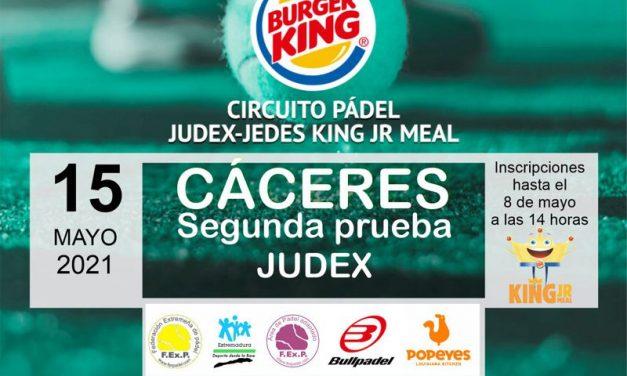 2ª PRUEBA CIRCUITO KING JR. MEAL JUDEX EN CÁCERES 2021