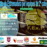 CAMPEONATO DE EXTREMADURA POR EQUIPOS DE 2ª CATEGORÍA 2021