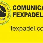 APLAZAMIENTO COMPETICIONES FEXPADEL EN EL MES DE ENERO 2021