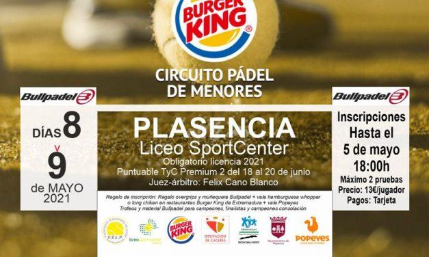 2ª PRUEBA CIRCUITO BURGER KING DE MENORES CLASIF. CICLO 2 EN PLASENCIA 2021
