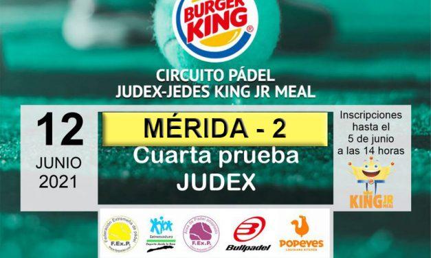 4ª PRUEBA JUDEX KING JR. MEAL EN MÉRIDA 2 2021