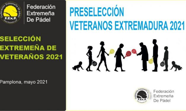 SELECCIÓN EXTREMEÑA DE VETERANOS 2021