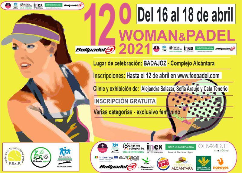 12ª EDICIÓN WOMAN&PADEL 2021